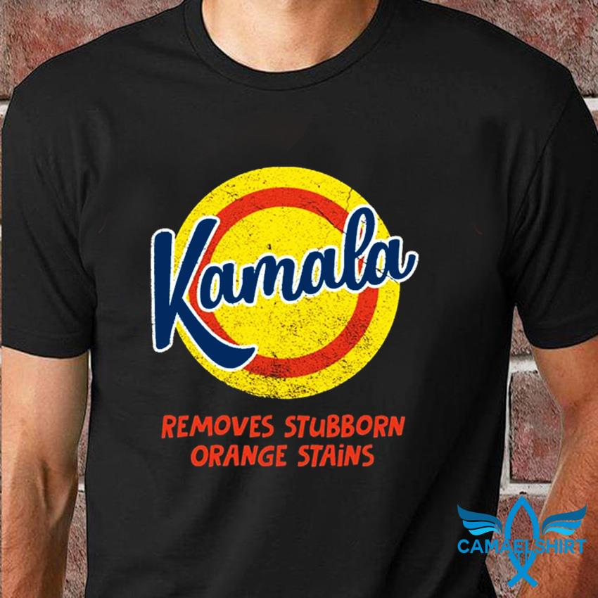 Kamala Harris 2020 remove stubborn orange stain not Trump t-shirt