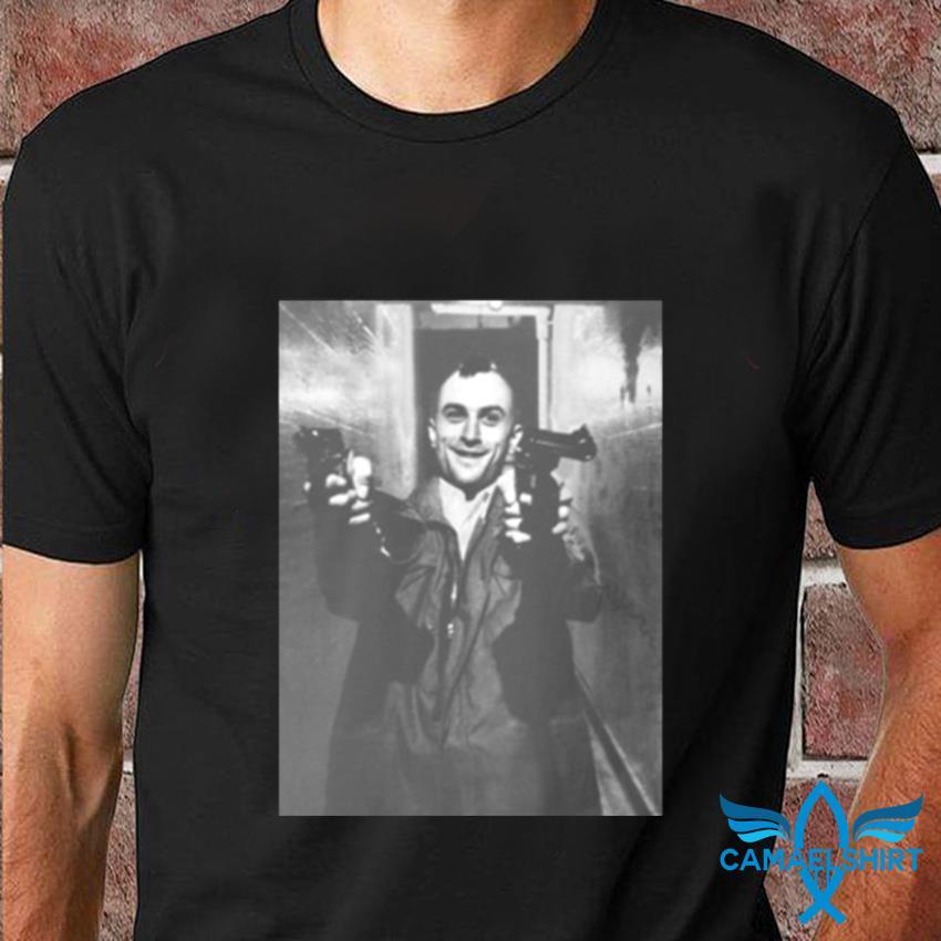 Robert De Niro Travis Bickle taxi driver t-shirt