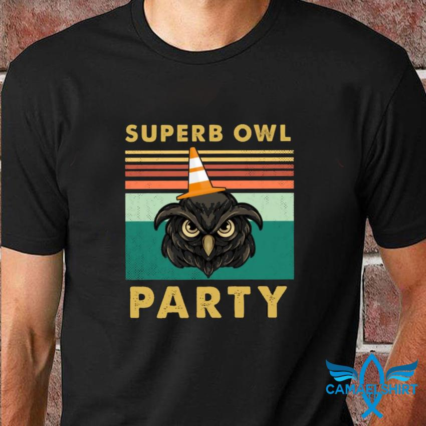 Superb owl party what we do in the shadow fan tee vintage t-shirt