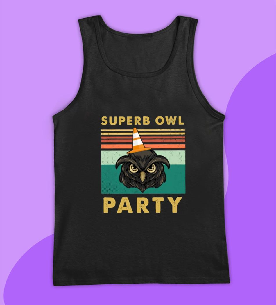 Superb owl party what we do in the shadow fan tee vintage t-s tank top