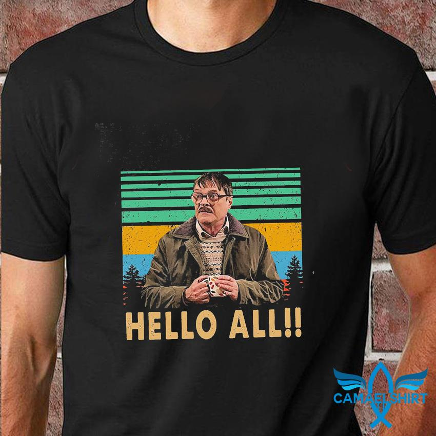 Hello All Vintage T Shirt