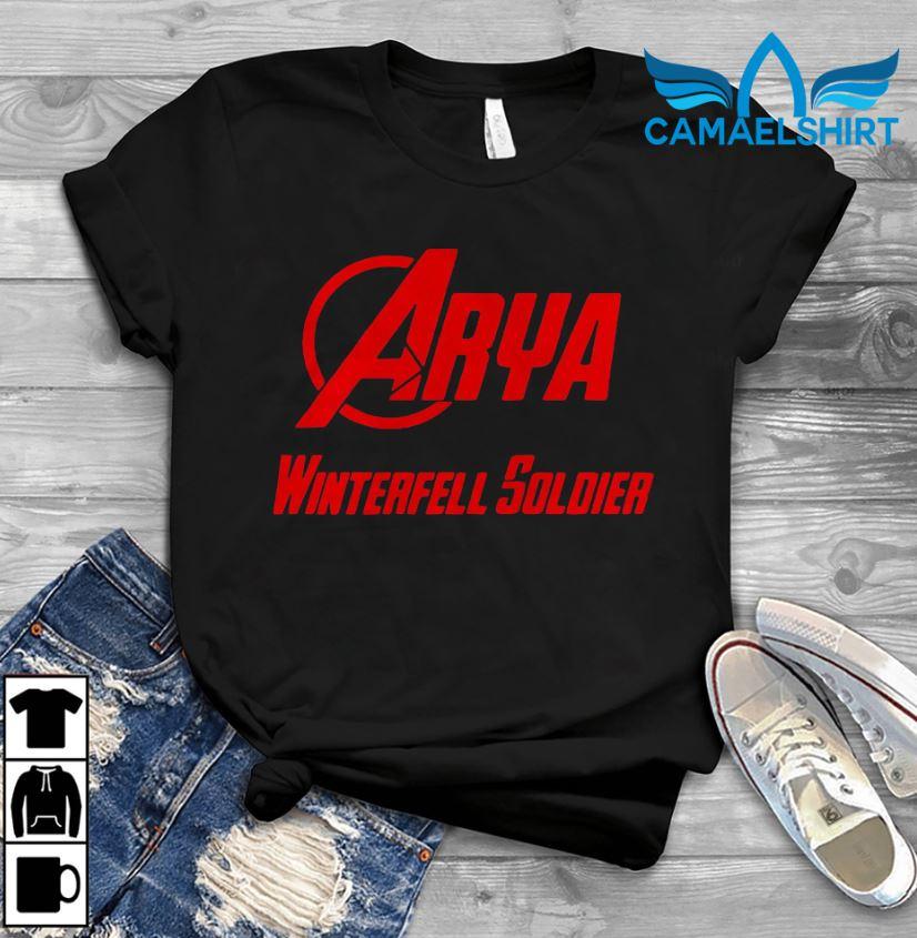 Avenger Arya Stark Winterfell Soldier t-shirt