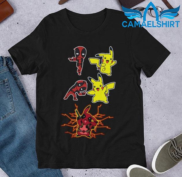 Deadpool Pikachu fusion Pikapool t-shirt