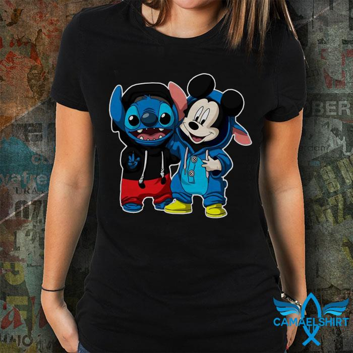 Stitch Mickey best friends ever shirt