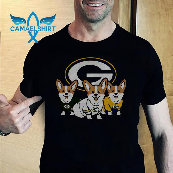Green Bay Packers corgi shirt