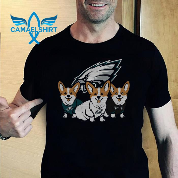 Philadelphia Eagles corgi shirt