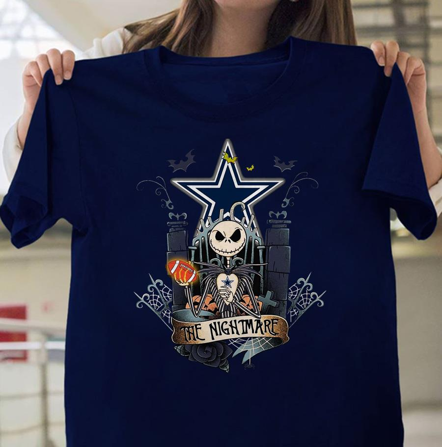 Dallas Cowboys Jack Skellington the Nightmare shirt