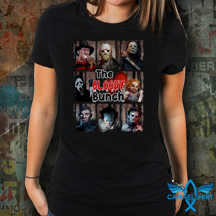 Horror Movies the Bloody Bunch Halloween shirt