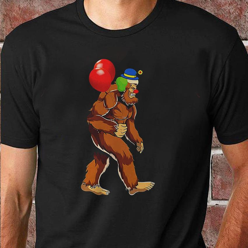 Bigfoot Pennywise balloon shirt