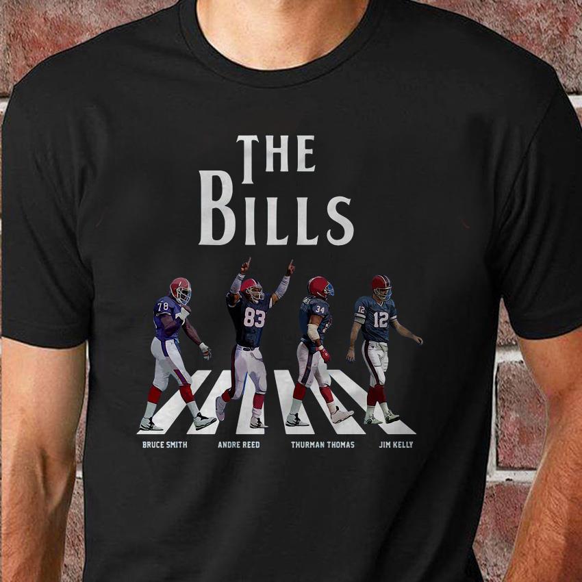 Buffalo team legends on Abbey Road unisex shirt