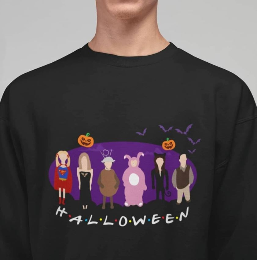 Friends the one with Halloween Party shirt