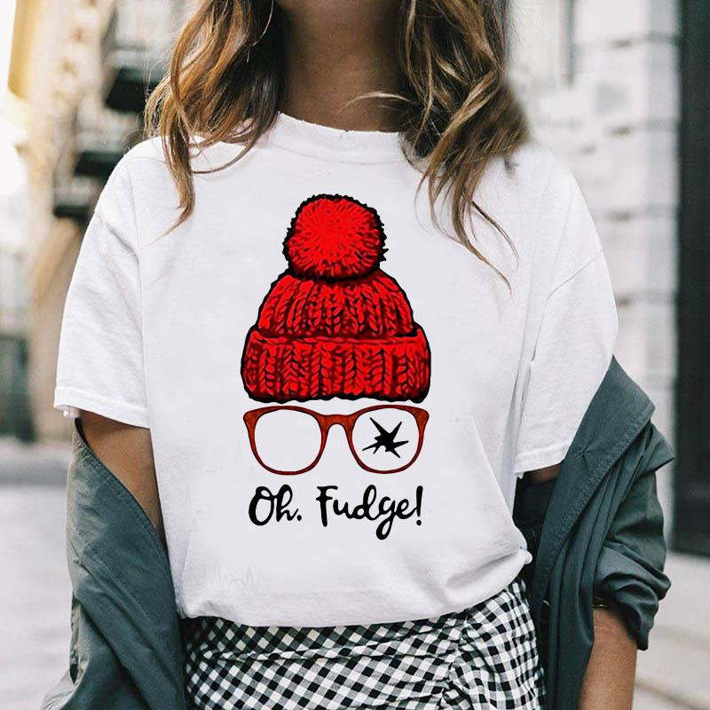 Ralphie oh fudge funny A Christmas Story ladies-shirt