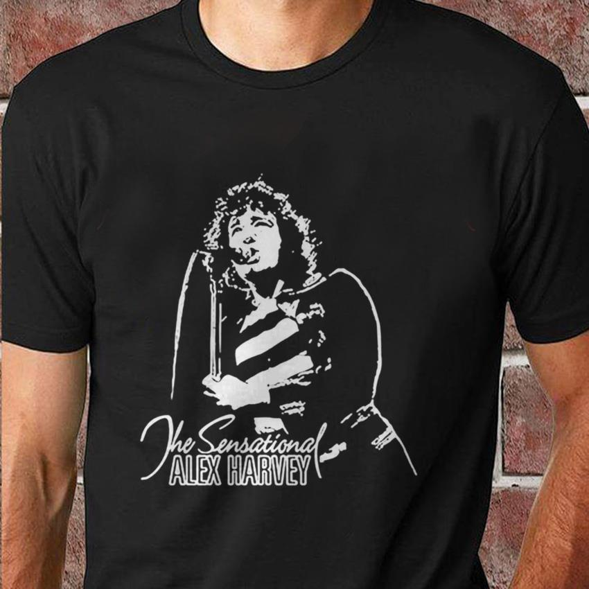 Alex Harvey Rock & Blues legend t-shirt