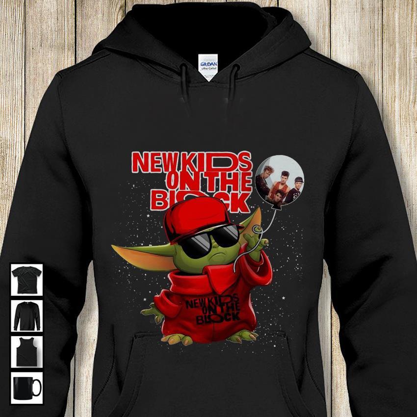Baby Yoda New kids on the block hoodie-shirt