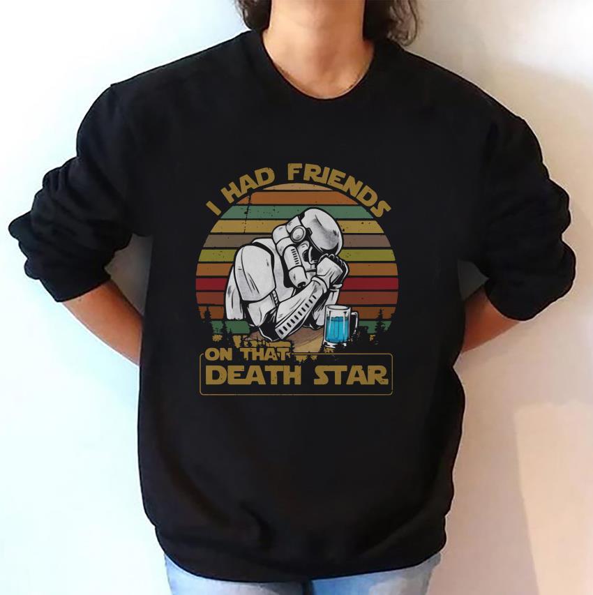 I had friends on that Death Star vintage sweat-shirt