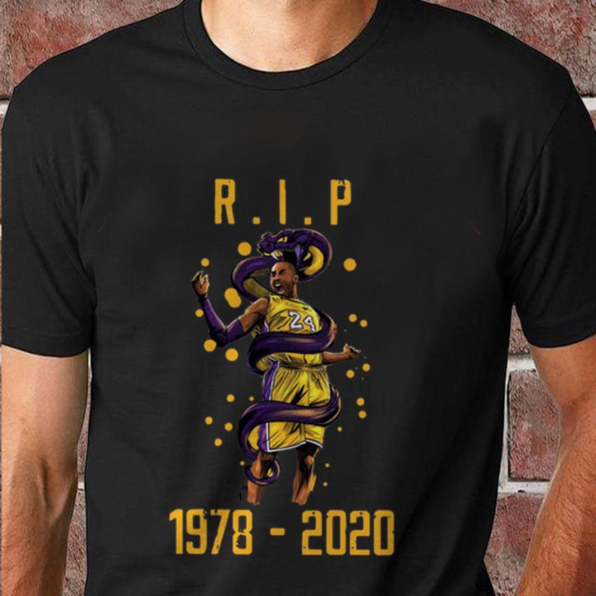 Los Angeles Lakers Kobe Bryant 1978 2020 t-shirt