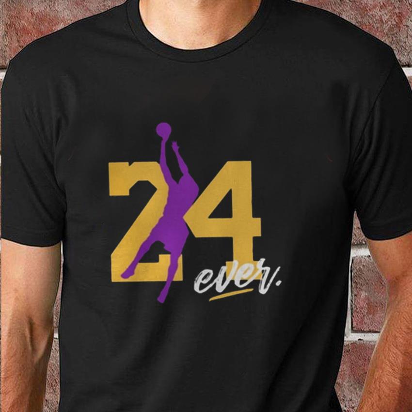 Los Angeles Lakers Kobe Bryant signature t-shirt