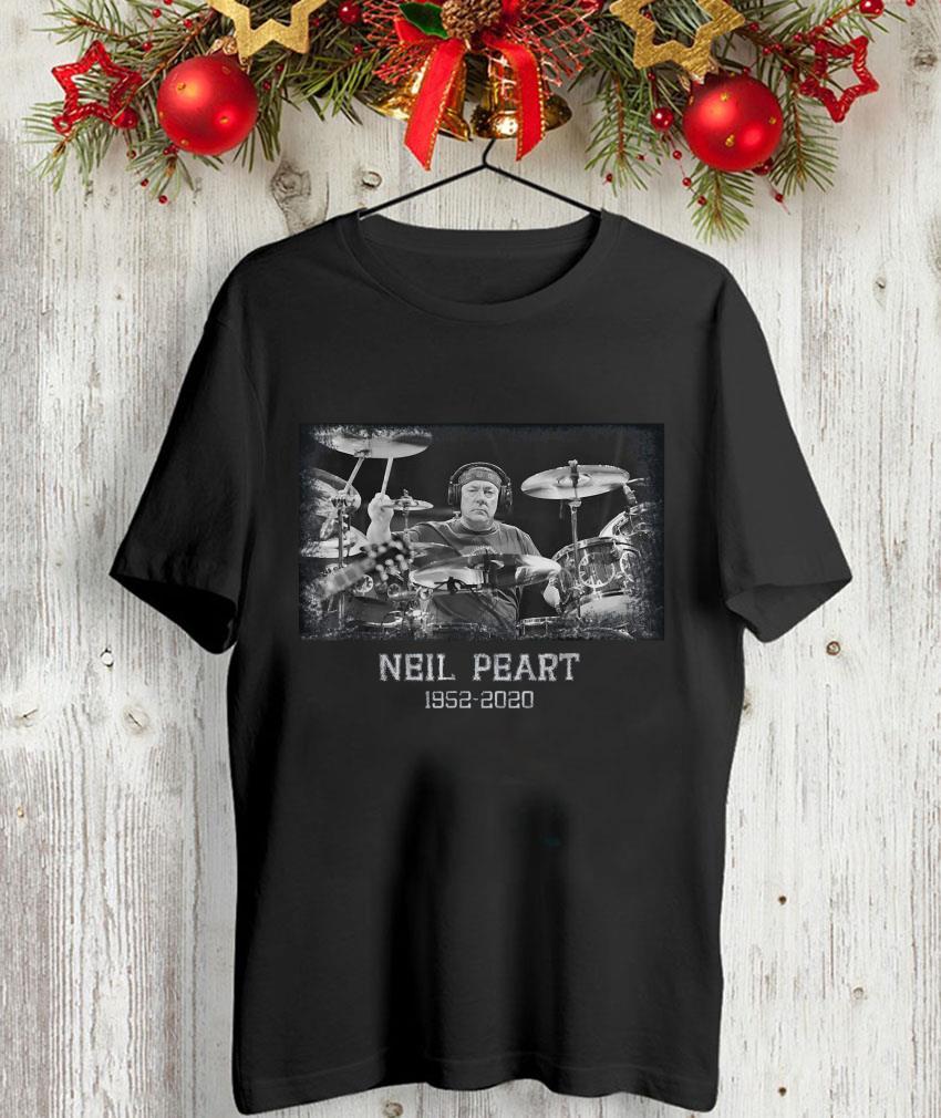 Memory Neil Peart 1952-2020 in loving drummer unisex-shirt