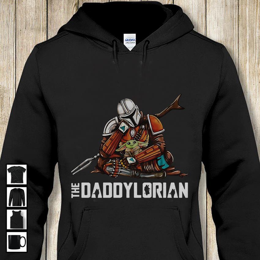 The Mandalorian baby Yoda Daddylorian hoodie-shirt