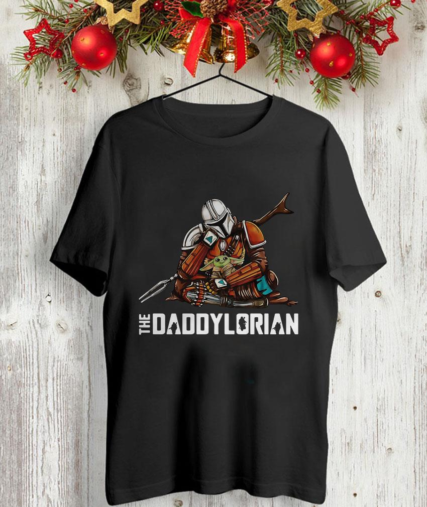 The Mandalorian baby Yoda Daddylorian unisex-shirt