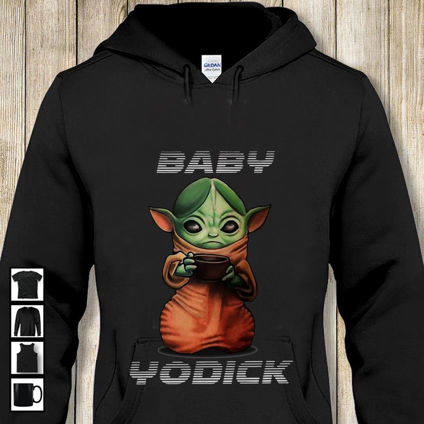 The Mandalorian Baby Yodick hoodie-shirt
