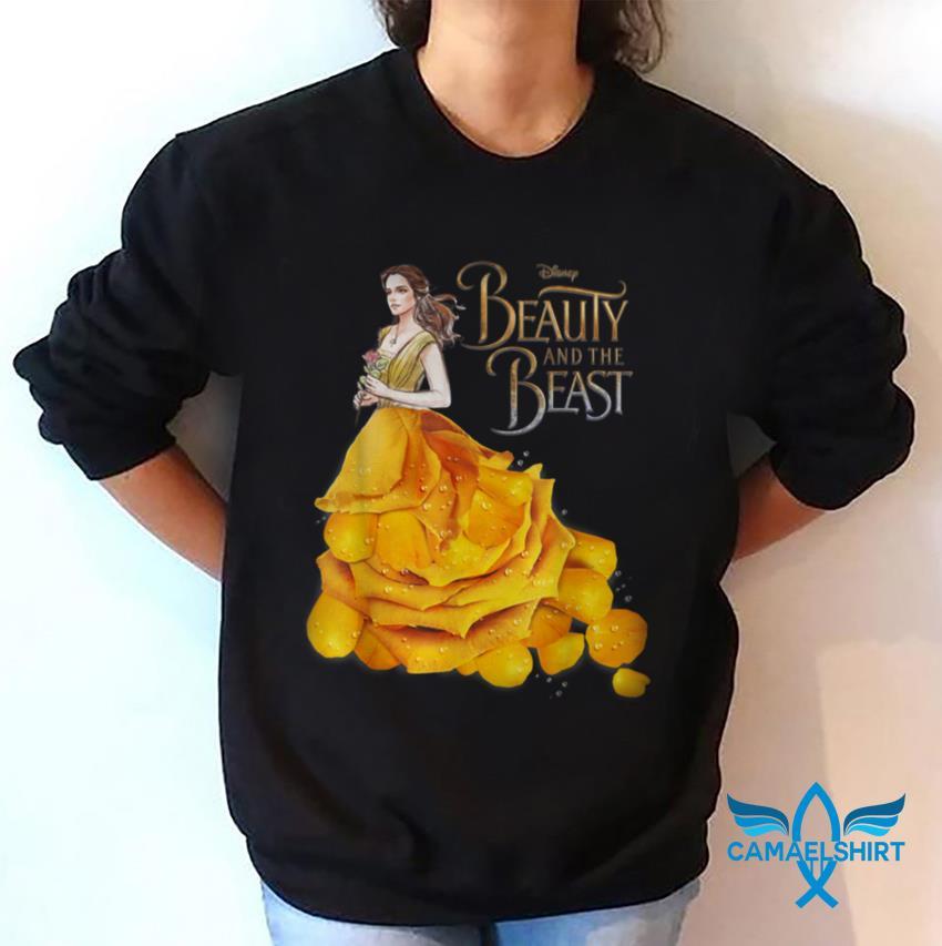 Beauty and the Beast Belle Golden dress t-shirt