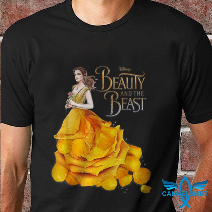 Beauty and the Beast Belle Golden dress t-shirt