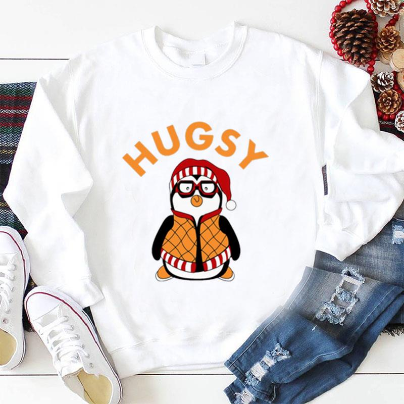 Penguin Hugsy Joeys friends funny t-shirt