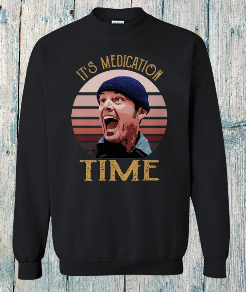 Retro Randle McMurphy its medication time sweat-shirt