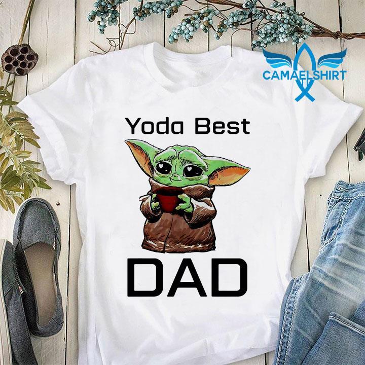 The Mandalorian Baby Yoda best dad unisex-shirt