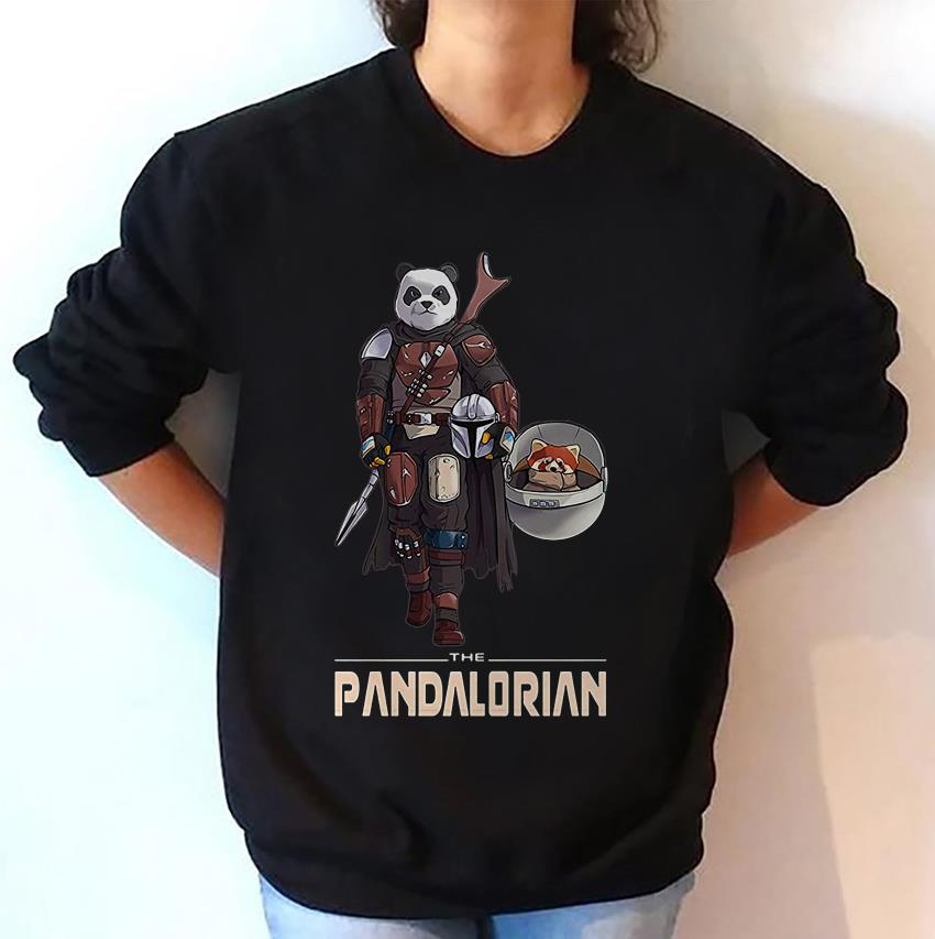 The Pandalorian funny Panda Star Wars sweatshirt