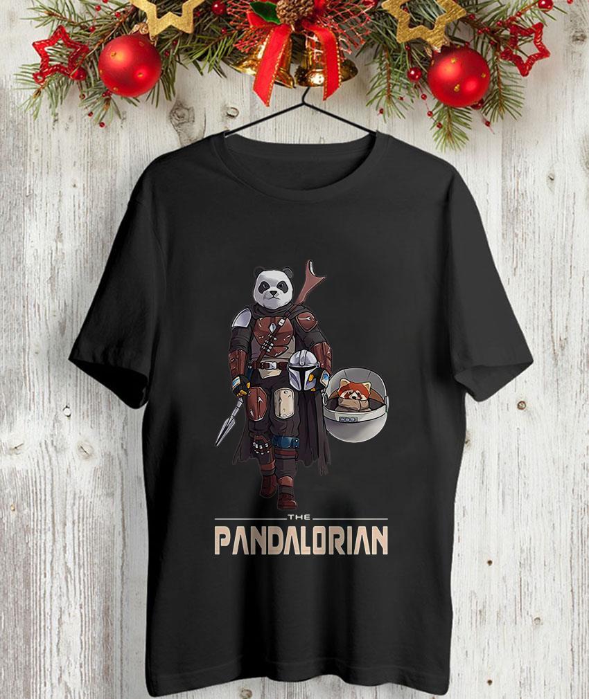 The Pandalorian funny Panda Star Wars unisex t-shirt