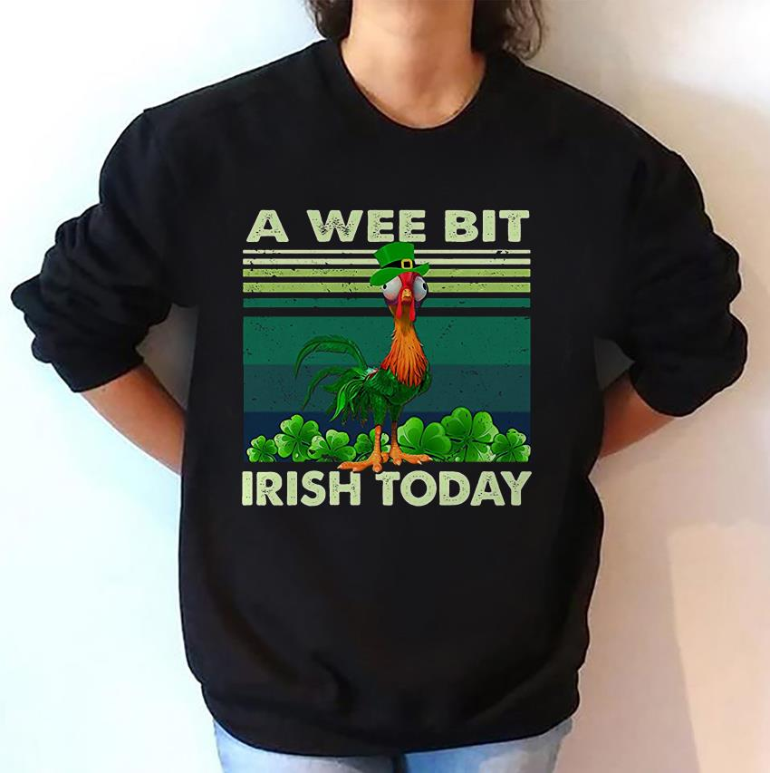 The Rooster a wee bit Irish today funny Moana t-shirt