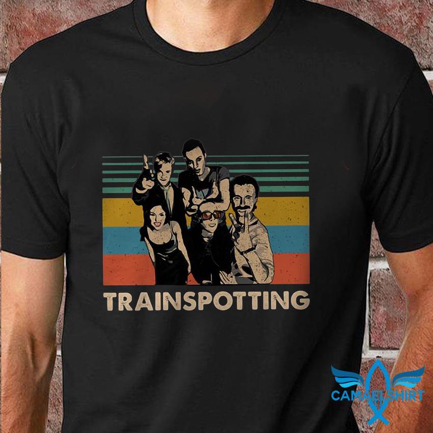 Trainspotting movie poster vintage sweat shirt
