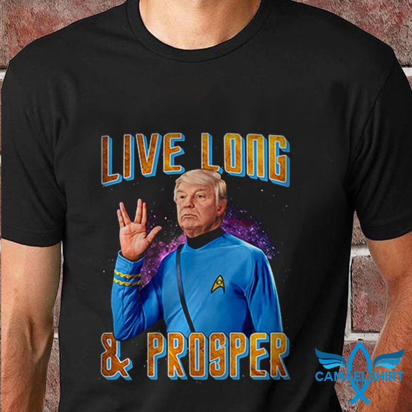 Trump 2020 live long and prosper t-shirt