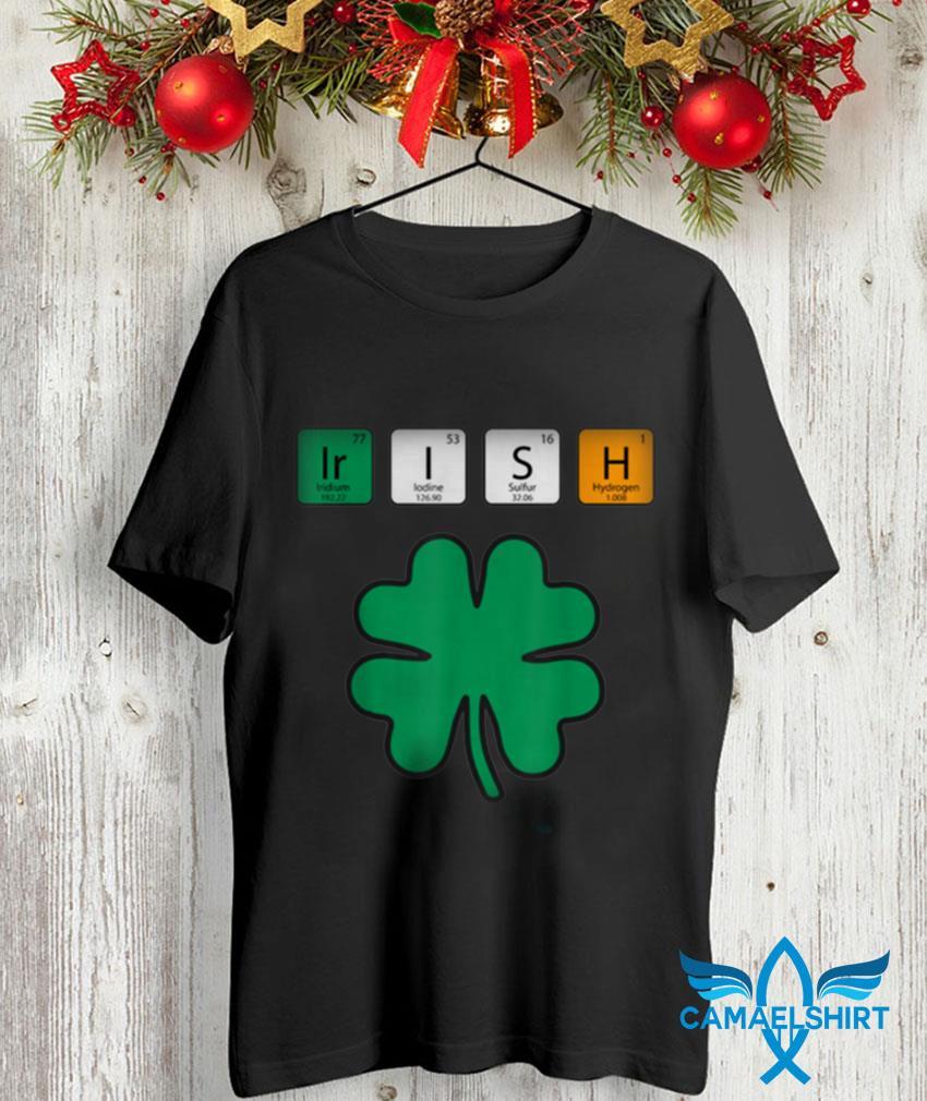 Chemistry science Irish St Patricks Day t-shirt