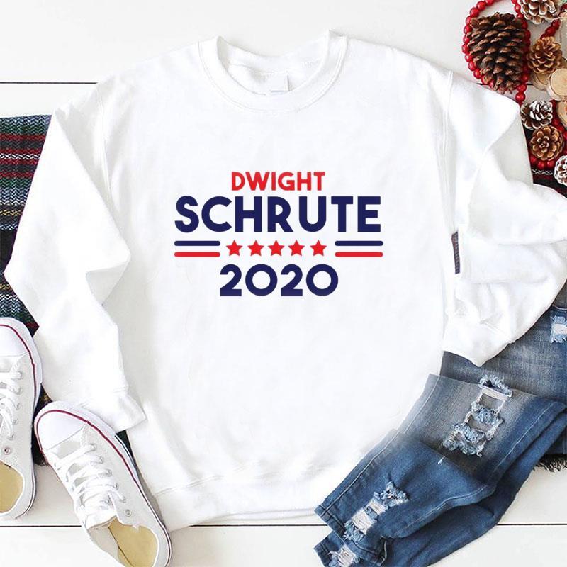 Dwight Schrute president 2020 longsleeve-shirt