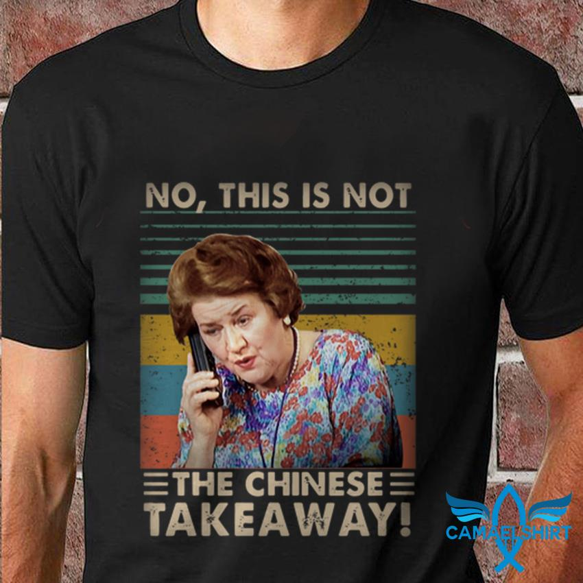 Hyacinth Bucket no this is not the Chinese takeaway vintage t-shirt
