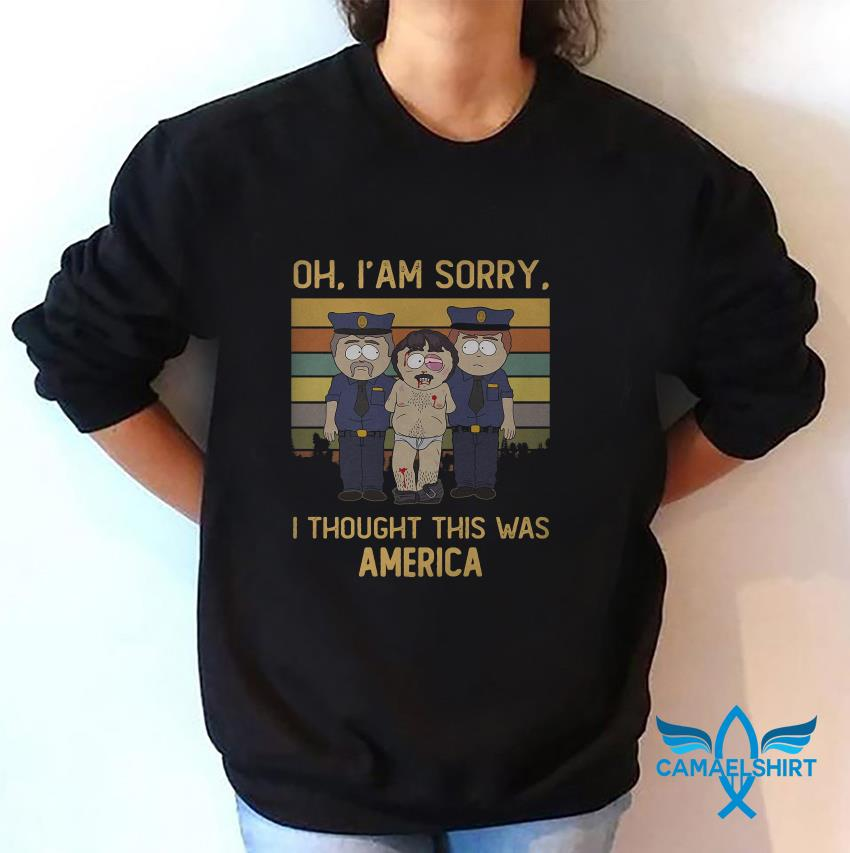 Randy Marsh oh Im sorry I thought this was America vintage sweat shirt