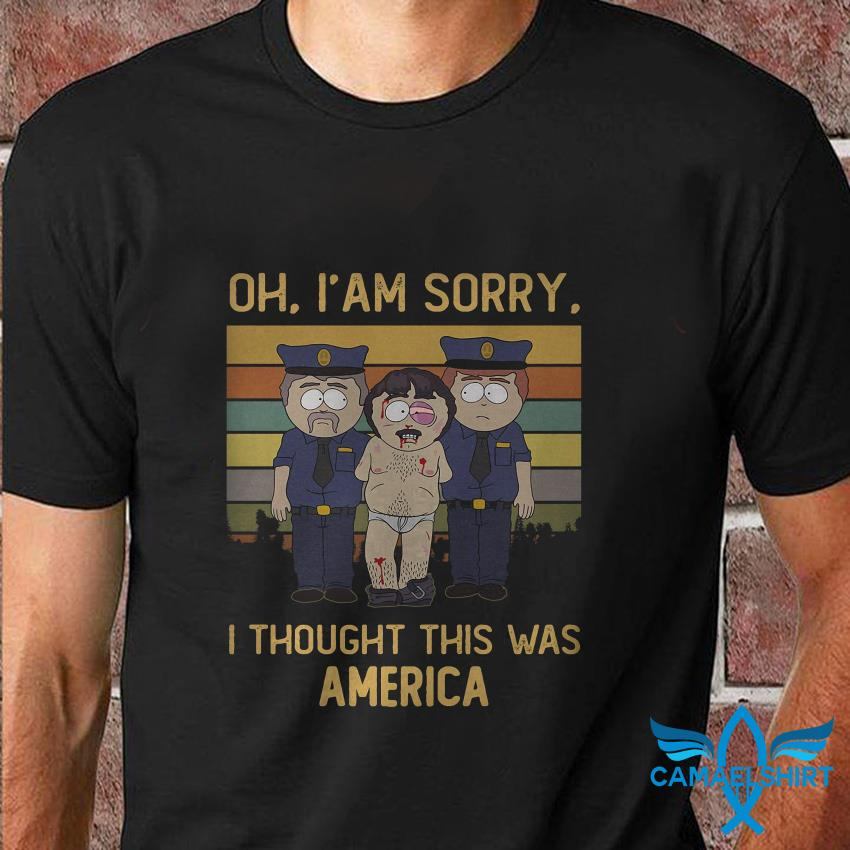 Randy Marsh oh Im sorry I thought this was America vintage t shirt