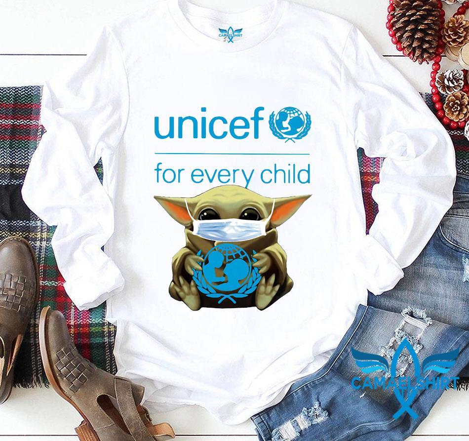 Baby Yoda Unicef for every child quarantine longsleeve