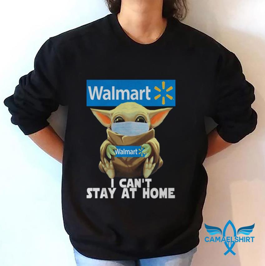 Baby Yoda Walmart I cant stay at home sweat shirt