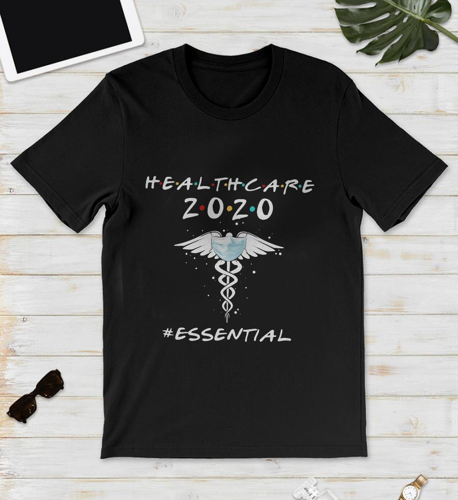 Heathcare 2020 essential caduceus symbol unisex shirt