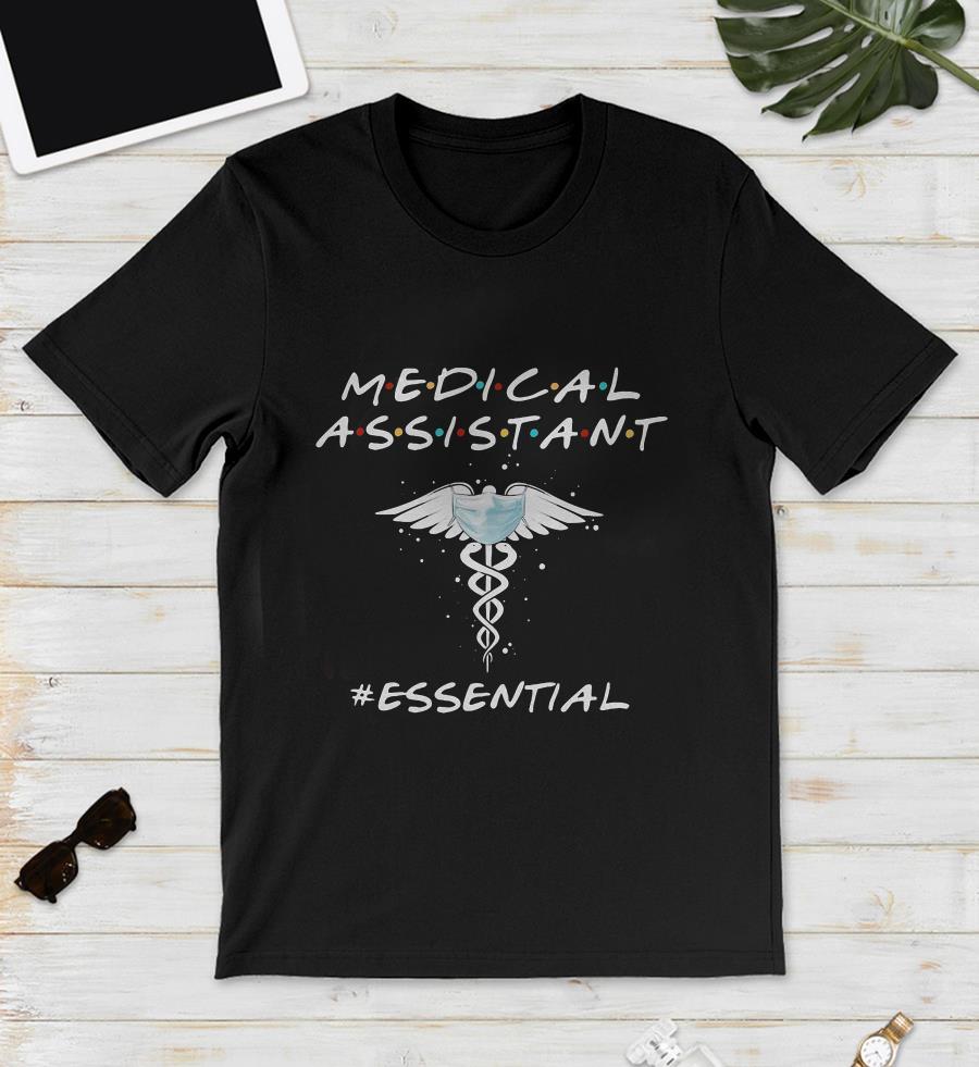 Medical assistant essential caduceus symbol unisex shirt