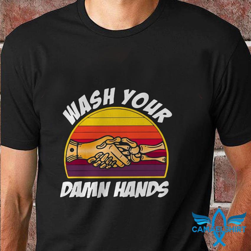Plague Doctor wash your damn hands vintage t shirt