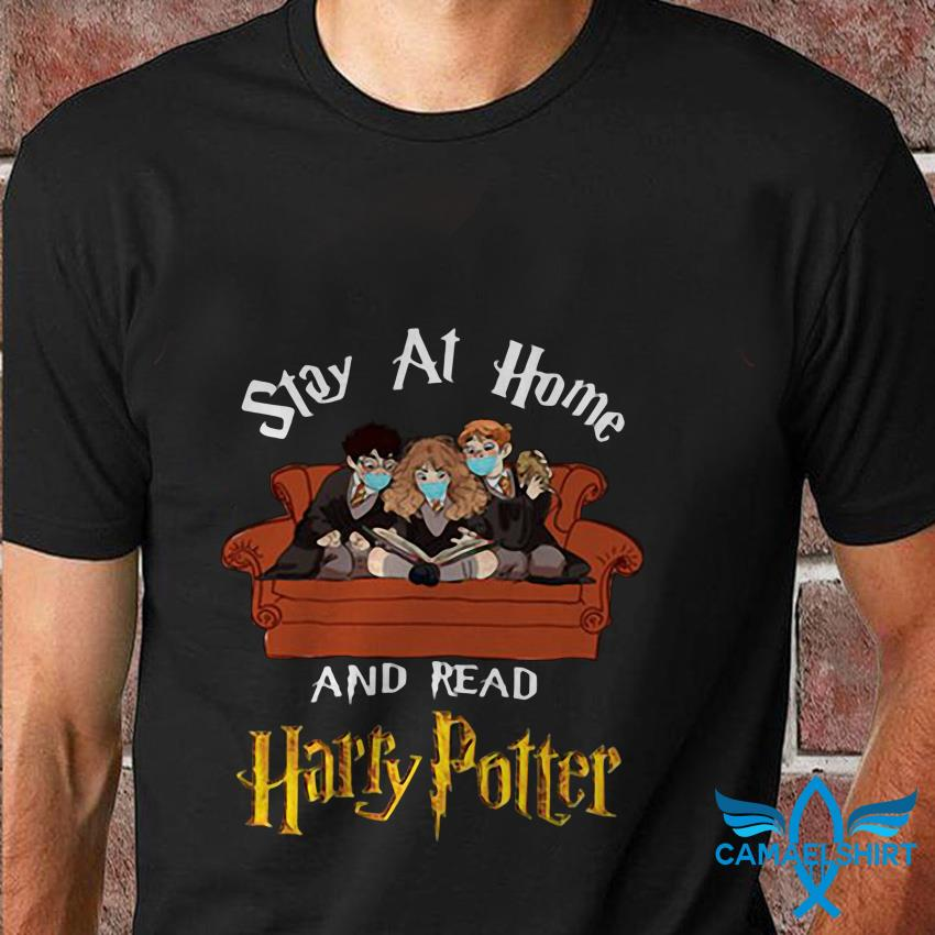 Ron Hermione stay at home and read Harry Potter t shirt