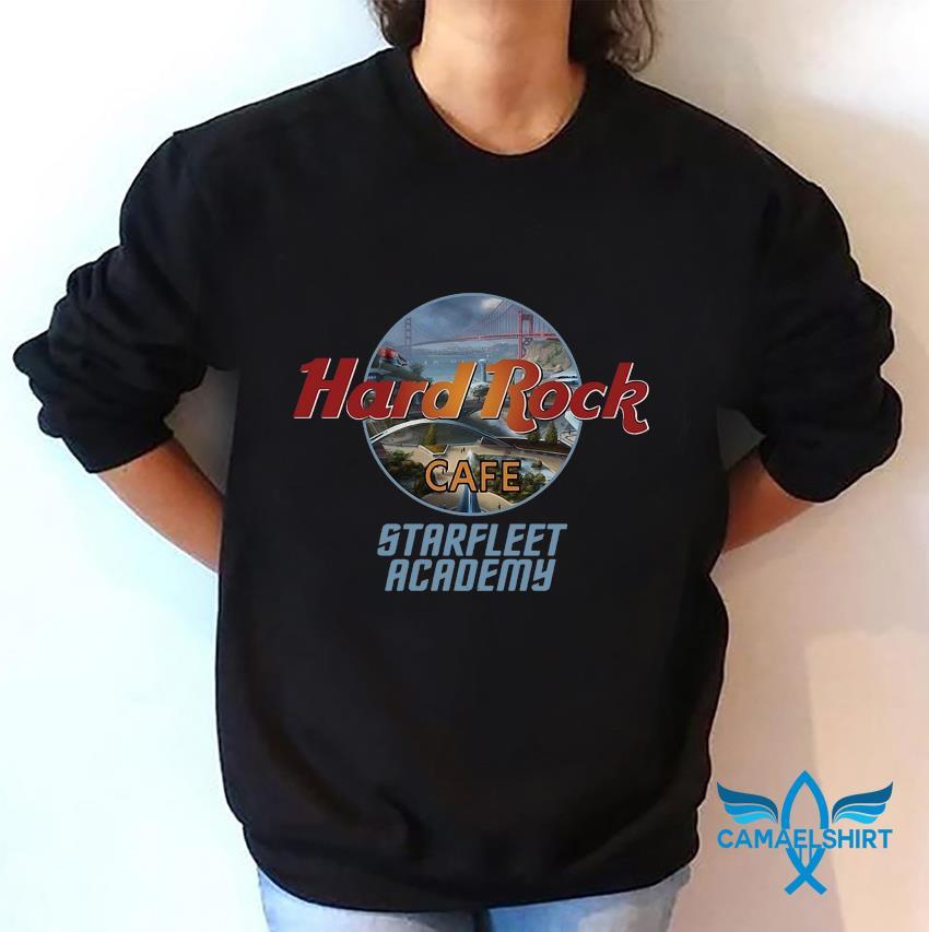 Star Trek Hard Rock coffee Starfleet Academy sweatshirt