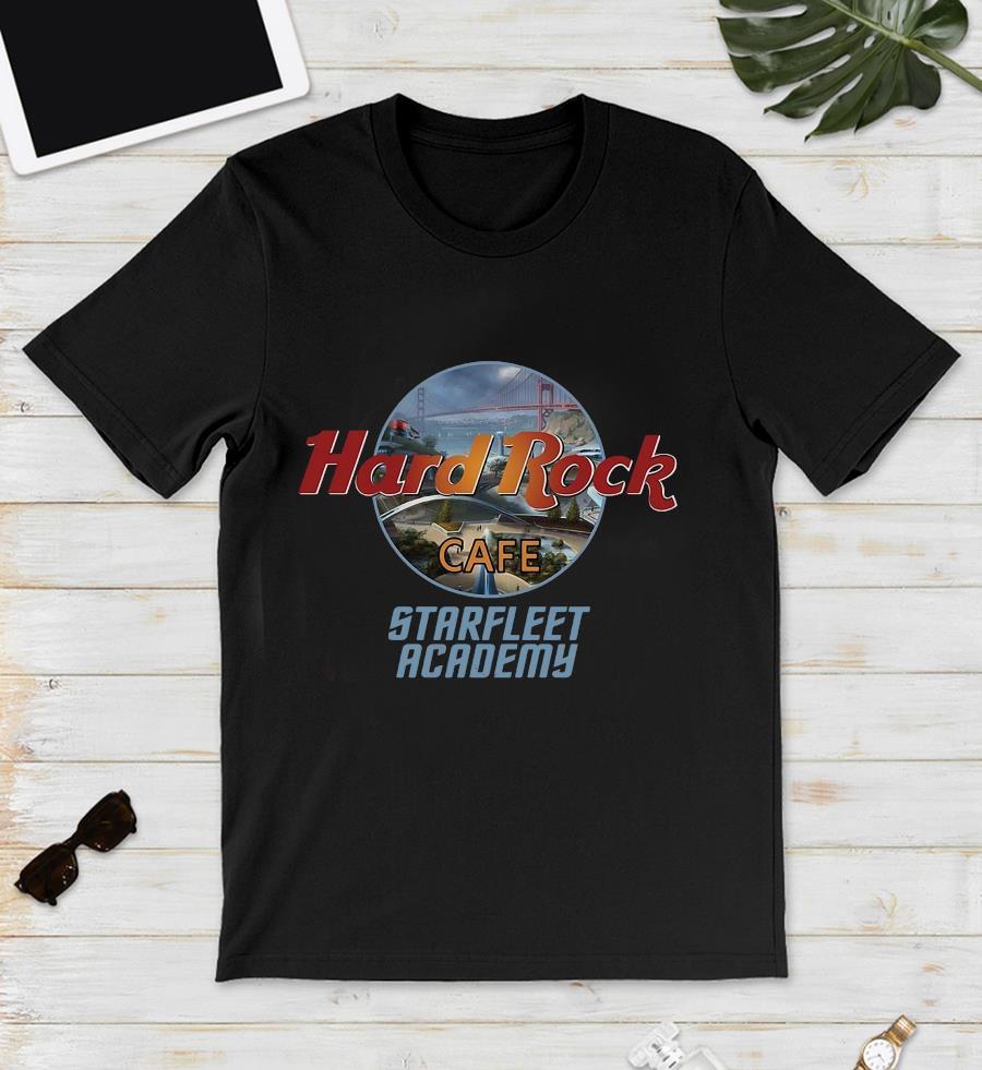 Star Trek Hard Rock coffee Starfleet Academy unisex t-shirt
