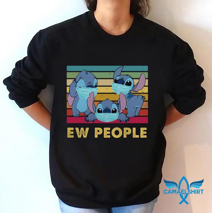 Stitch ew people vintage quarantine sweatshirt
