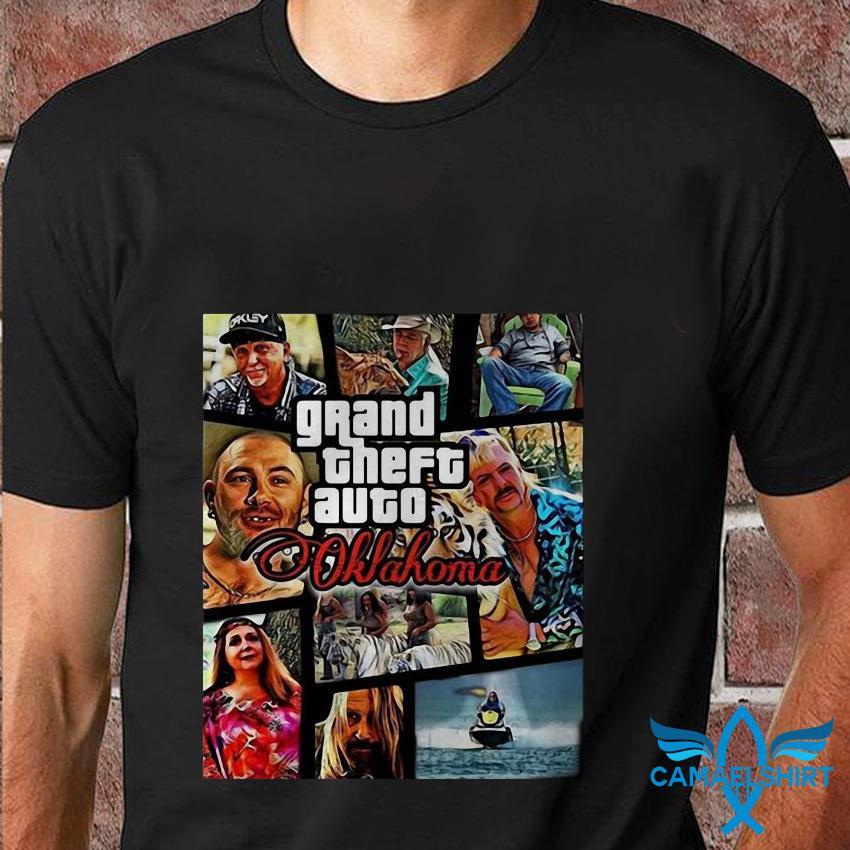Tiger King grand theft auto Oklahoma t shirt